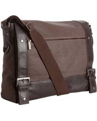 Kenneth Cole - Coated Canvas Sarah Mess-ica Parker Messenger Bag - Lyst