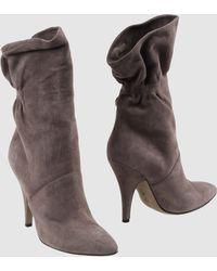 Alberta Ferretti Ankle Boots - Lyst