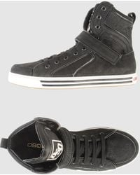 DSquared² Dsquared2 - High-top Sneakers gray - Lyst