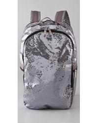 LeSportsac Sequin Backpack - Metallic