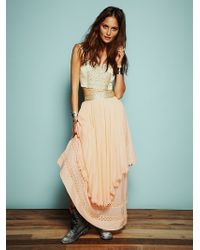 Free People Kristals Limited Edition Party Dress - Lyst