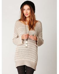 Free People Open Back Tunic - Lyst