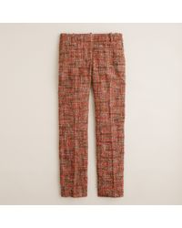 J.Crew Café Capri in Harvest Tweed - Lyst