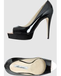 Brian Atwood Pumps With Open Toe - Lyst
