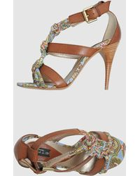 Etro  High-heeled Sandals - Lyst