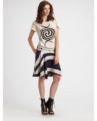 Kelly Wearstler - Totem Dip-dye Skirt - Lyst