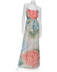 Thakoon Addition Floral Print Maxi Dress - Lyst