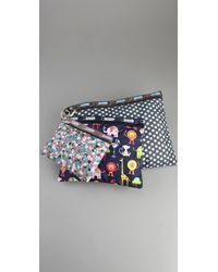 LeSportsac - 3 Pack Pouches - Lyst