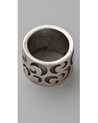 Low Luv by Erin Wasson - Cigar Band Ring - Lyst