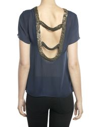 Parker Open Back Top - Lyst