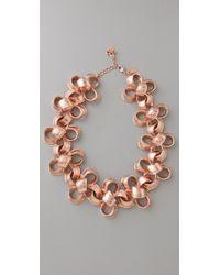 Tuleste - Ribbon Necklace - Lyst