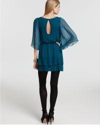 Alice + Olivia Petunia Exaggerated Bell Sleeve Dress - Lyst