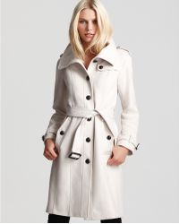 Ash - Burberry London Wool/cashmere Coat - Lyst