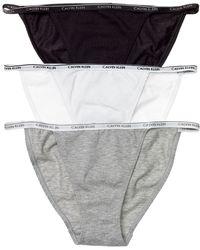 Calvin Klein Underwear Ck One Cotton String Bikini - Lyst