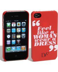 Diane von Furstenberg Iphone 4 Case - Lyst