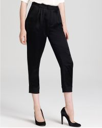 Marc By Marc Jacobs Goldie Satin Pant - Lyst