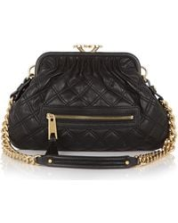 Marc Jacobs Quilting Little Stam Leather Shoulder Bag - Lyst