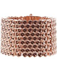 Mawi - Honeycomb Cuff Bracelet - Lyst