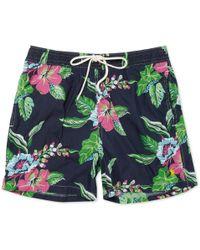 Polo Ralph Lauren Flower-print Swim Shorts - Lyst