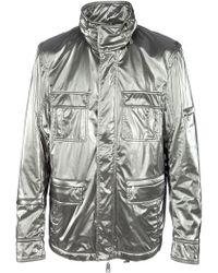 Richmond X Metallic Jacket - Lyst