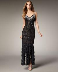 Julian Joyce By Mandalay - Beaded Lace Gown - Lyst