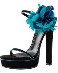 Gucci Schneider High-heel Platform Sandal - Lyst