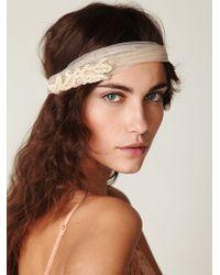 Free People Marcel Mesh Headband - Lyst
