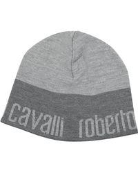 Roberto Cavalli - Signature Brim Wool Hat - Lyst