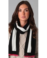 Juicy Couture - Williams Rugby Stripe Oblong Scarf - Lyst