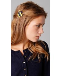 Marc By Marc Jacobs Star Hair Clip - Yellow