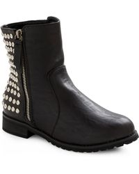 ModCloth Stud-y Date Boot - Lyst