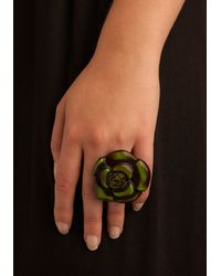 ModCloth Flower Pow-er Ring - Lyst