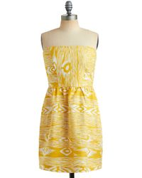 ModCloth Arizona Sun Dress - Lyst