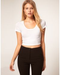 ASOS Collection Asos Top in 90s Rib - Lyst