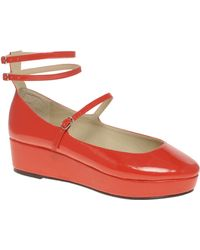 ASOS Collection Asos Viola Ballet Style Flatform Shoes - Lyst