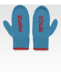 Kate Spade Big Apple Over Here Mittens - Lyst