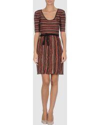 M Missoni Short Dresses - Lyst