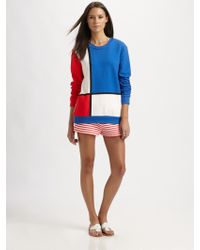 Pret-a-surf - Striped Terry Shorts - Lyst