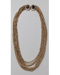 Rachel Leigh - Estates Chainmail Necklace - Lyst