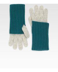 Grandoe - Cashmere Knit Touchscreen Compatible Glove - Lyst