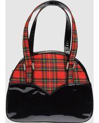 Rene Caovilla Medium Fabric Bag - Black
