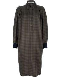 Guy Laroche Shirt Dress - Lyst