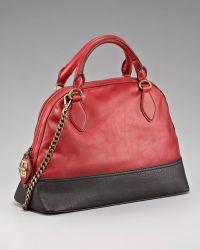 Olivia Harris - Bowler-Style Colorblock Bag - Lyst