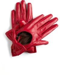 ModCloth Tirelessly Tasteful Gloves red - Lyst