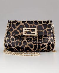 Fendi Jaguar Flap with Chain Strap Bag - Lyst
