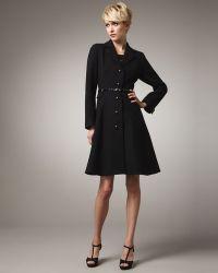Kate Spade Patrice Long-Sleeve Coat - Lyst