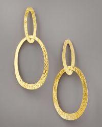 Herve Van Der Straeten - Double-ellipse Earrings - Lyst