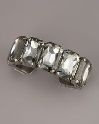 Janis By Janis Savitt | Big-stone Cuff Bracelet | Lyst