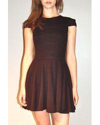Jen Kao | Cotton/cashmere Corset Dress | Lyst