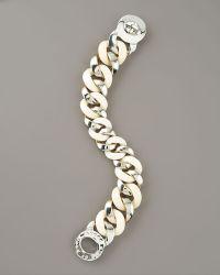 Marc By Marc Jacobs Katie Acrylic Bracelet, White - Lyst
